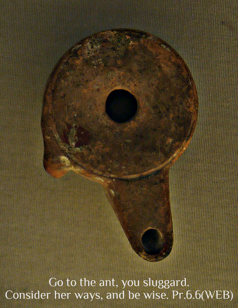 Early Greek Unadorned Oil Lamp